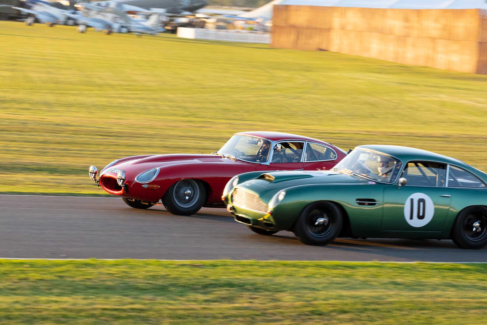 E Type Jaguar Calum Lockie Racing