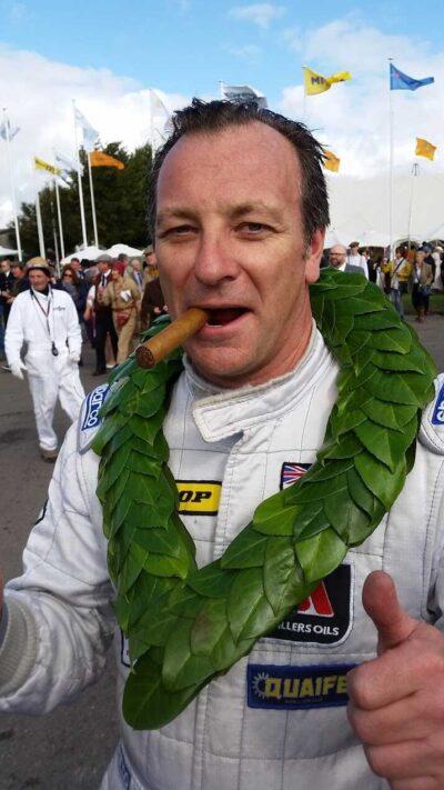 race driver/coach calum Lockie