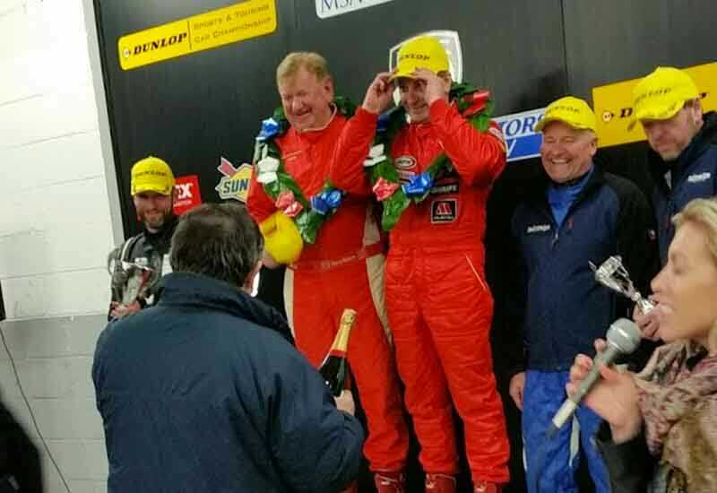 Gold at the Oulton Park Gold Cup - Calum Lockie Racing