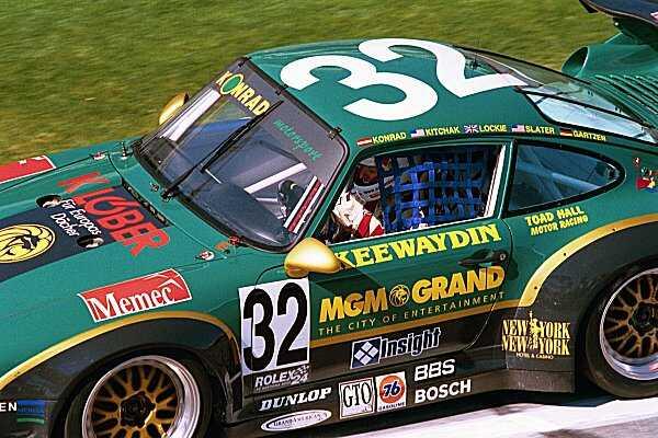 Calum Lockie Daytona Racing