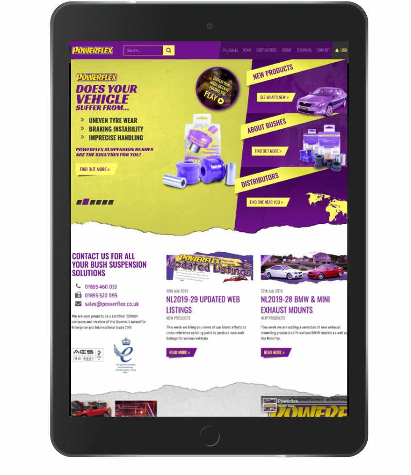 Powerflex Sponsor Of Calum Lockie Race Driver & Racing Coach