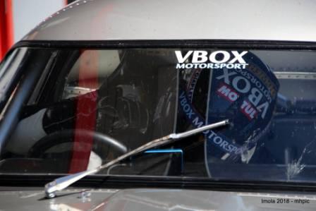 Imola racing 3 cars in the sun Calum Lockie