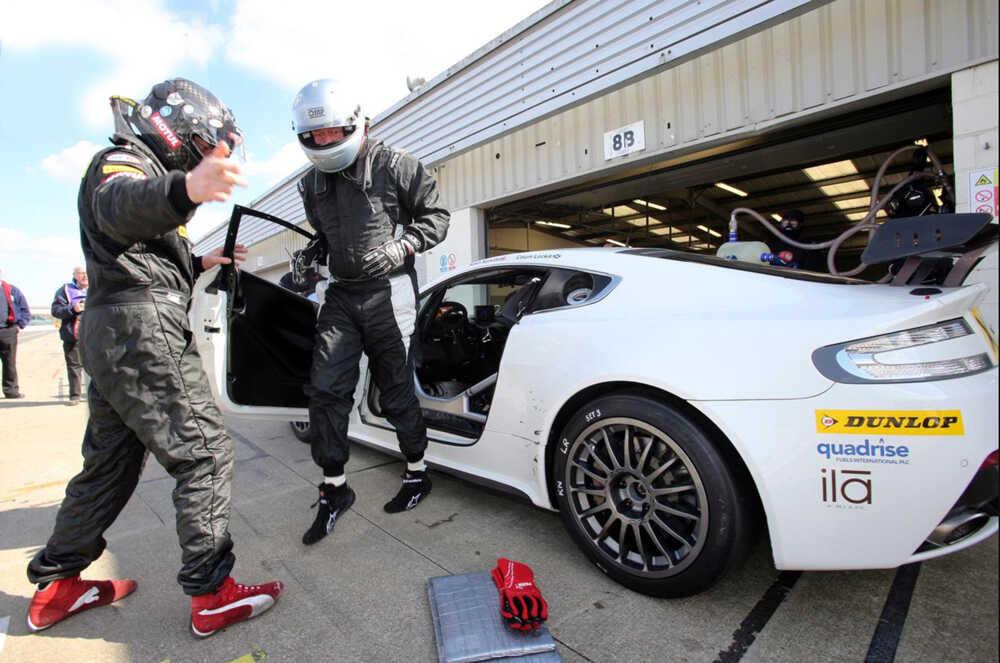 Aston Martin GT4 Challenge - Calum Lockie