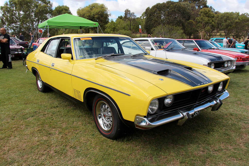 Ford falcon Fastest Lap - Calum Lockie