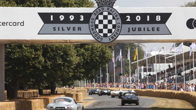 Goodwood Festival of Speed Calum Lockie