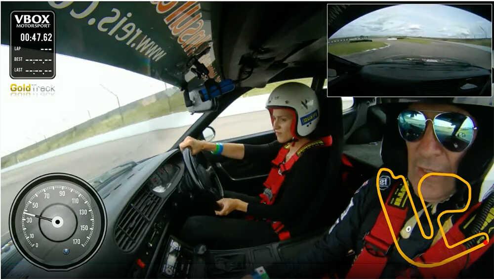 In Car Race Driver Coaching Video Calum Lockie