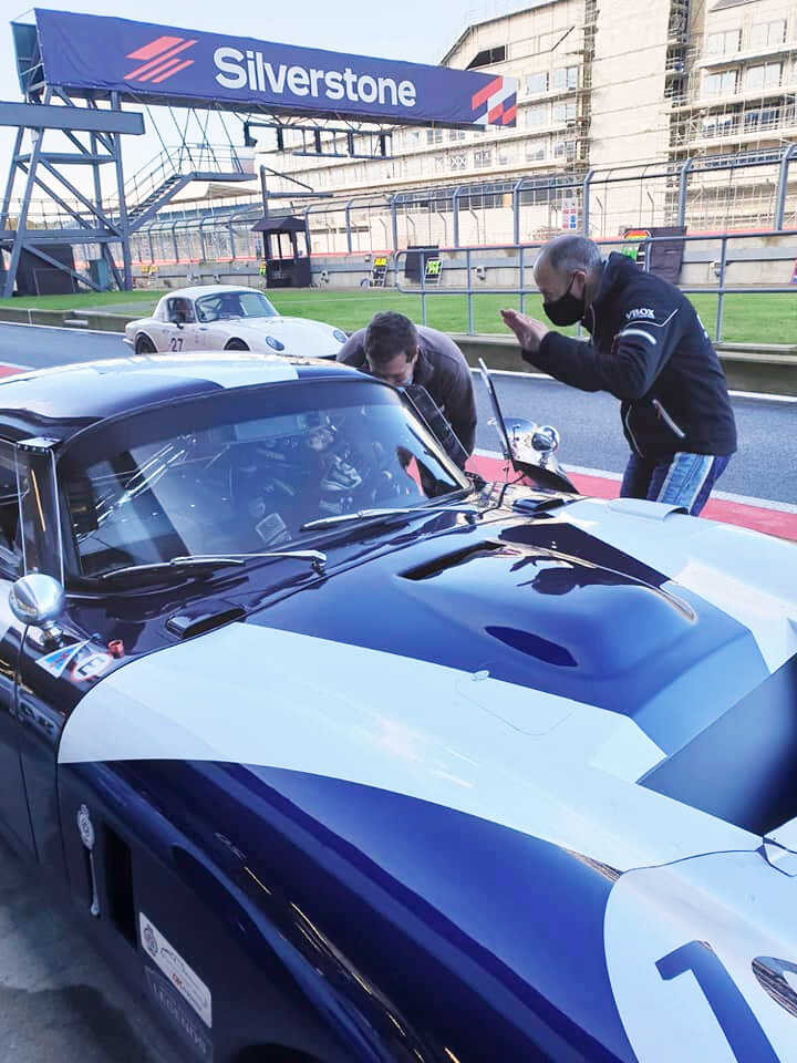RAC Historic Tourist Trophy 3 hour race meeting Silverstone October 2020 Calum Lockie